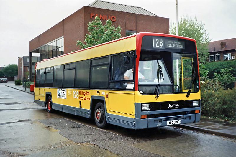 LX10 810DYE, Ruislip 16/5/1991