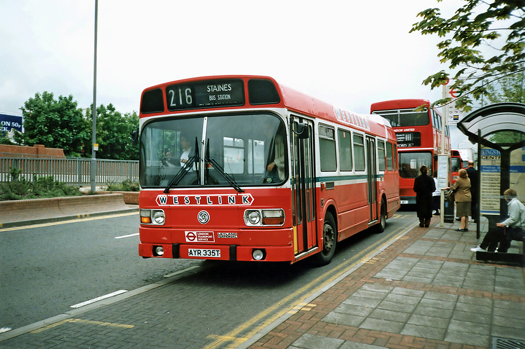 LS335 AYR335T, Kingston-upon-Thames 17/5/1991