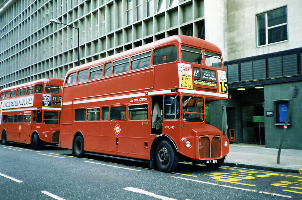 RM893 WLT893 Oxford Circus 16/5/1991