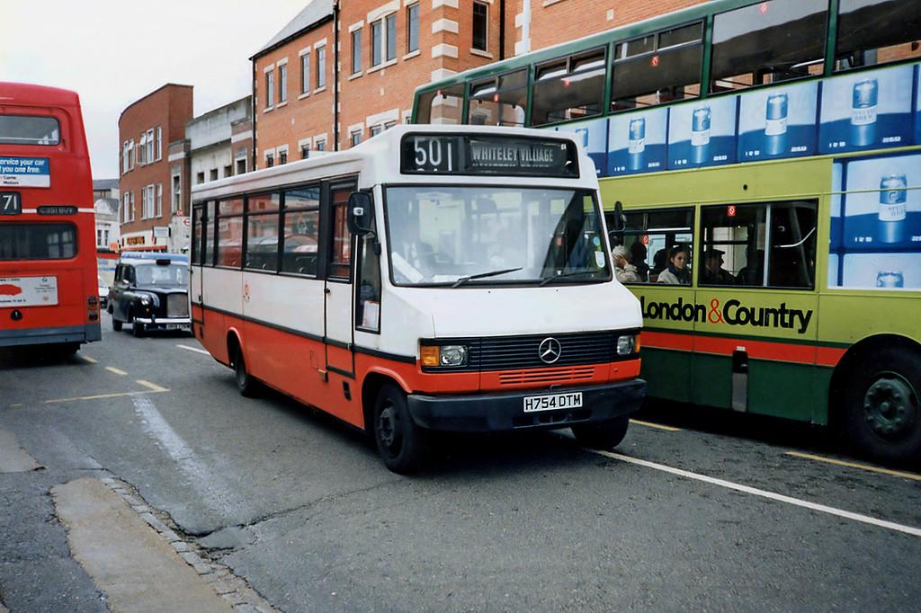 H754DTM, Kingston-upon-Thames 17/5/1991