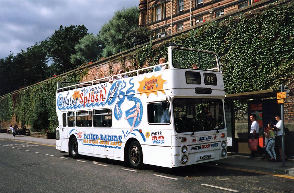 608 CYC658A, Scarborough 16/8/1991