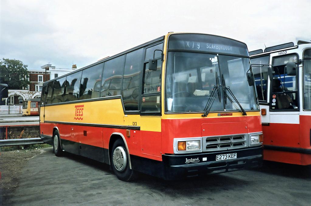 1313 E273KEF, Scarborough 16/8/1991