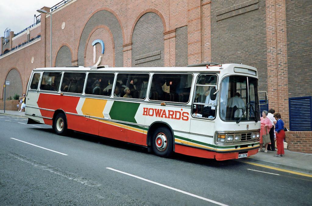 MRJ357W, Scarborough 16/8/1991