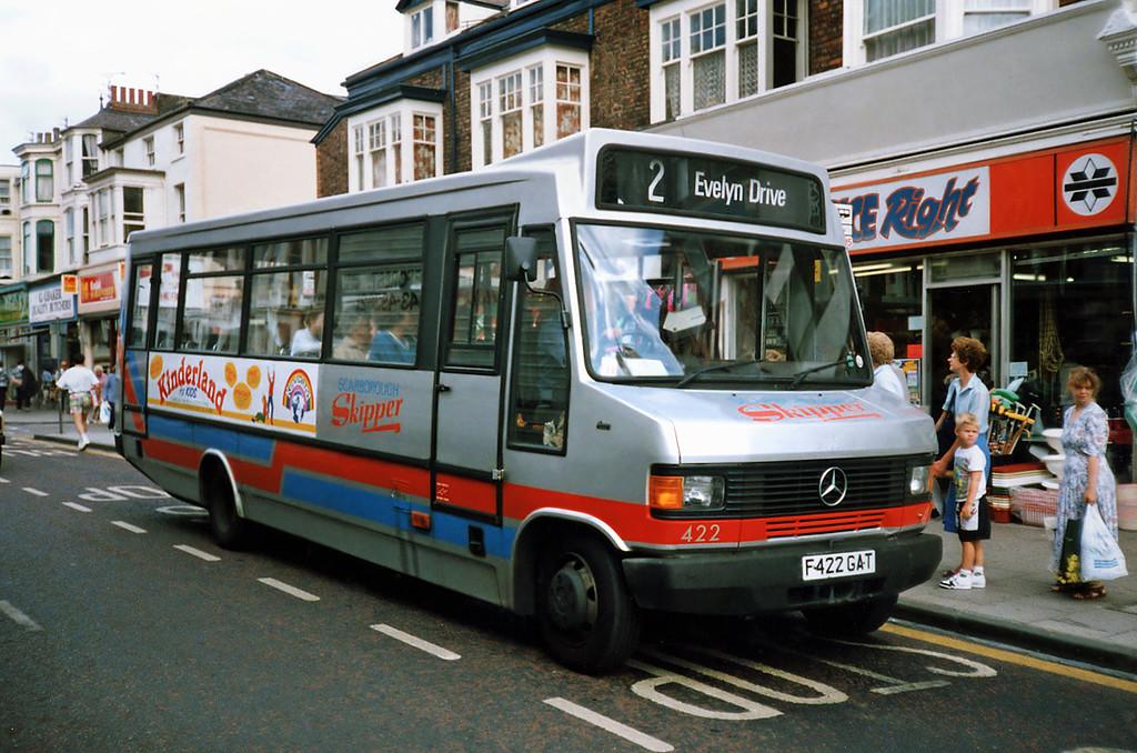 422 F422GAT, Scarborough 16/8/1991