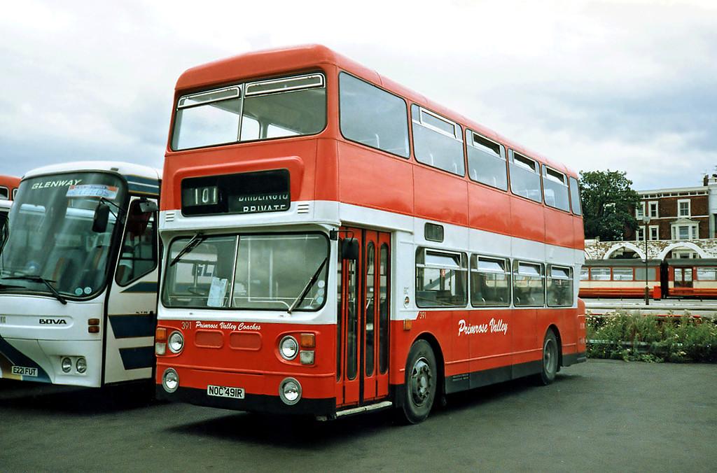 391 NOC491R, Scarborough 16/8/1991