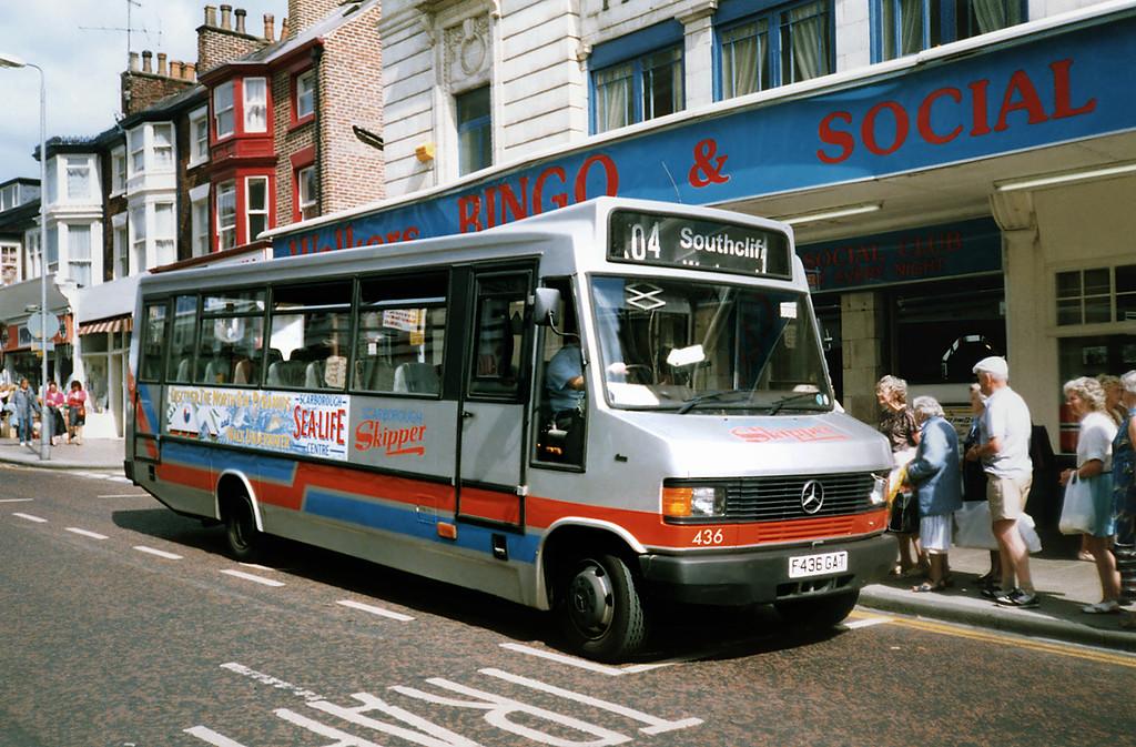 436 F436GAT, Scarborough 16/8/1991