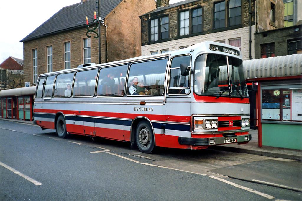 66 YFR496R, Accrington 16/11/1991