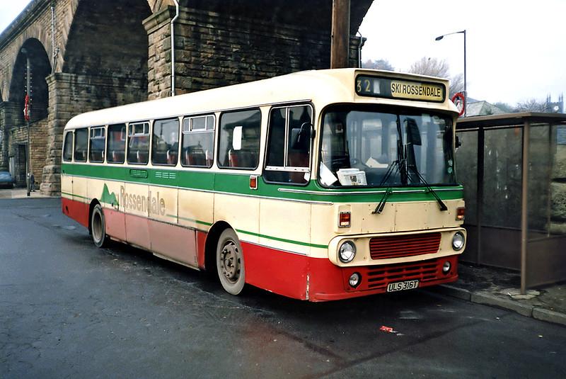 73 ULS316T, Todmorden 16/11/1991