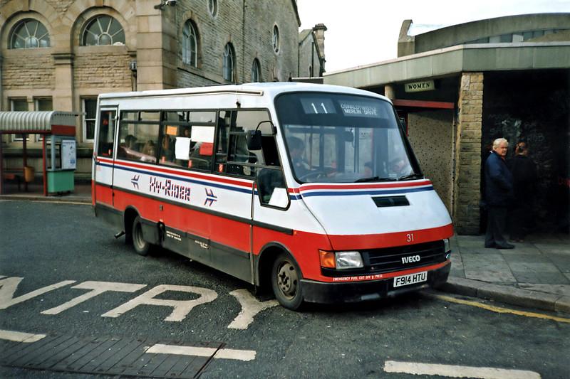 31 F914HTU, Accrington 16/11/1991