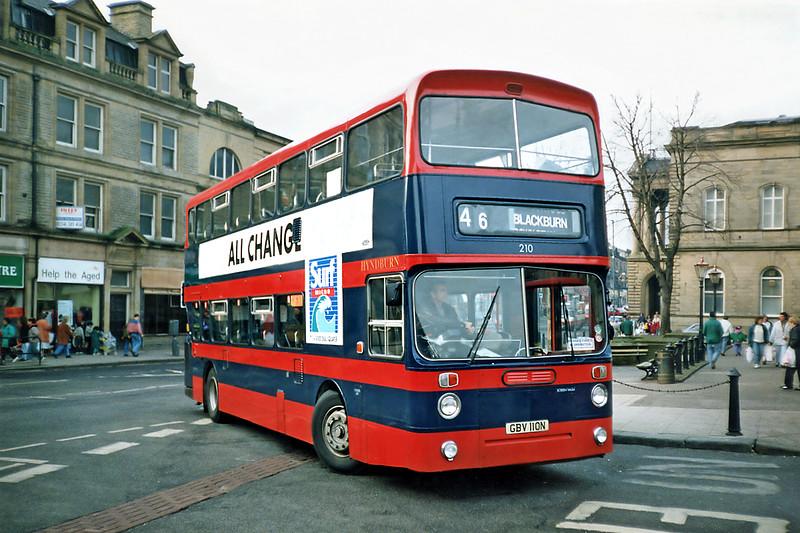 210 GBV110N, Accrington 16/11/1991