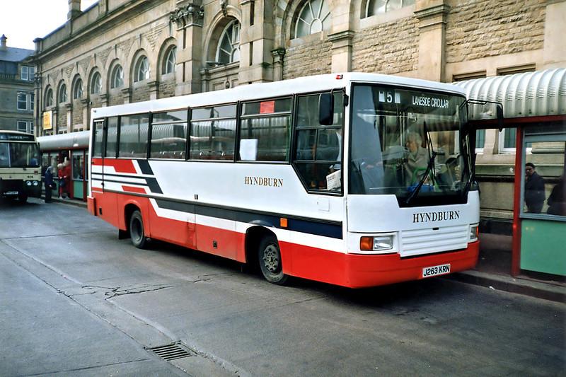 3 J263KRN, Accrington 16/11/1991