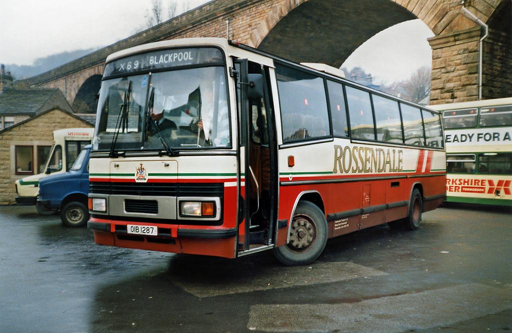 87 OIB1287, Todmorden 16/11/1991