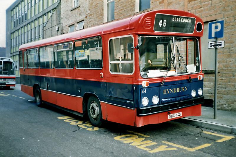 44 EHG44S, Accrington 16/11/1991