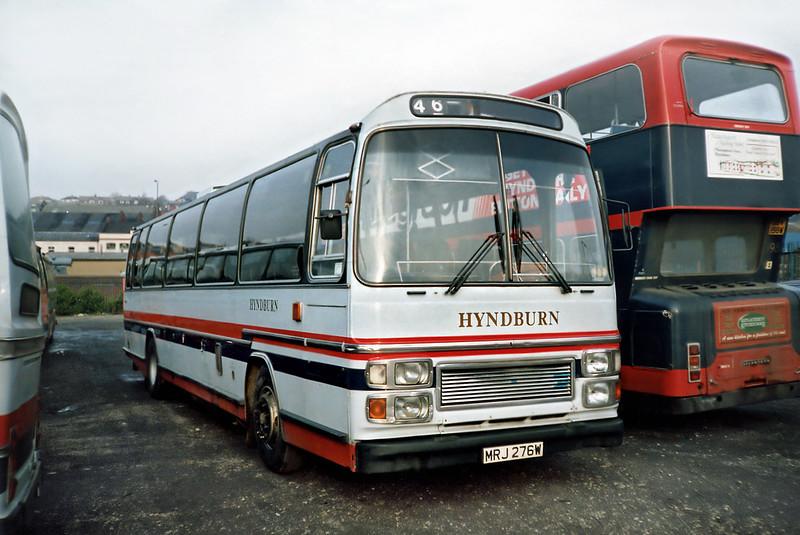 86 MRJ276W, Accrington 16/11/1991