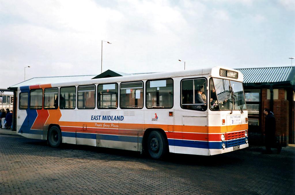 433 B633DWF, Meadowhall 17/2/1991