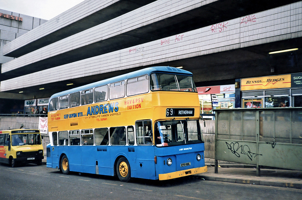 ETO168L, Sheffield 17/2/1991