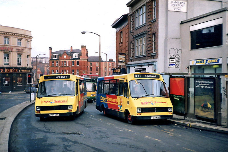 231 F231EWG and 237 F237EWG, Sheffield 17/2/1991