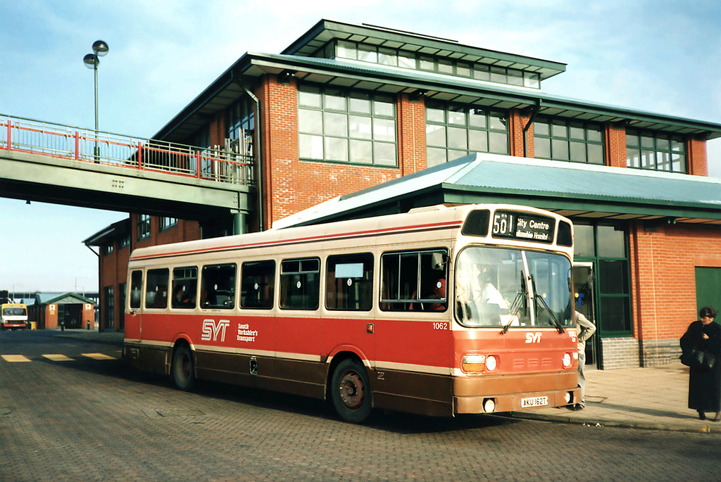 1062 AKU162T, Meadowhall 17/2/1991