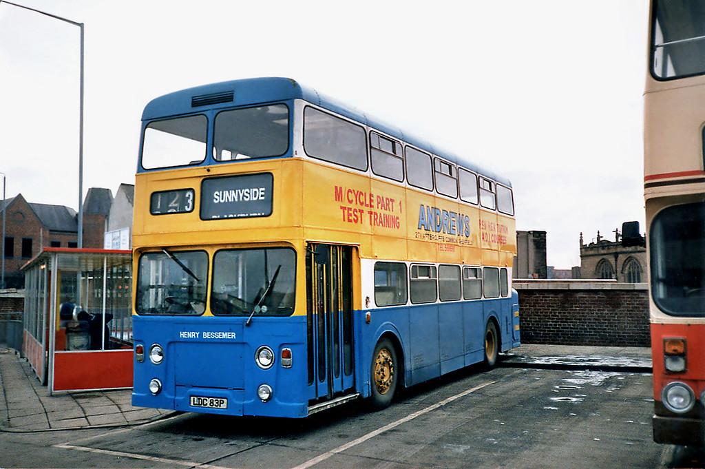 LDC83P, Rotherham 17/2/1991