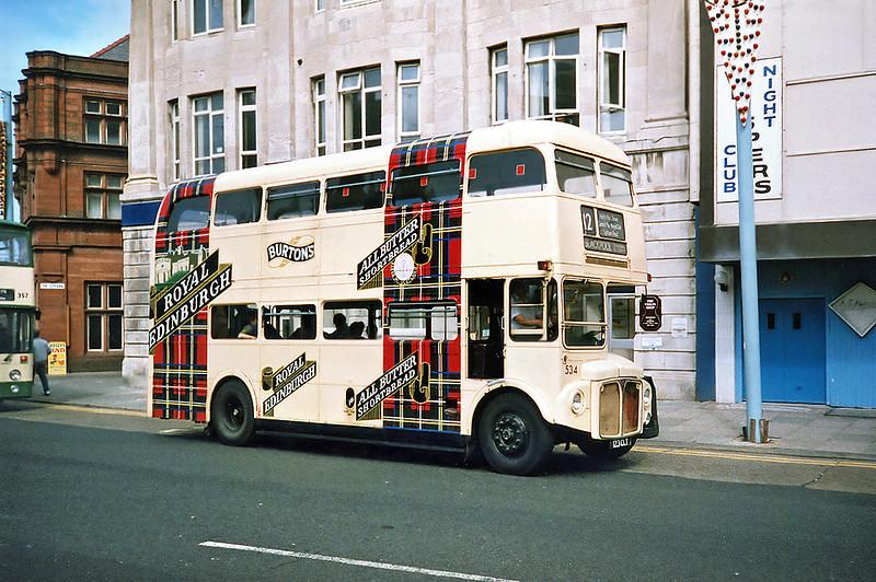 534 123CLT, Blackpool 17/7/1991