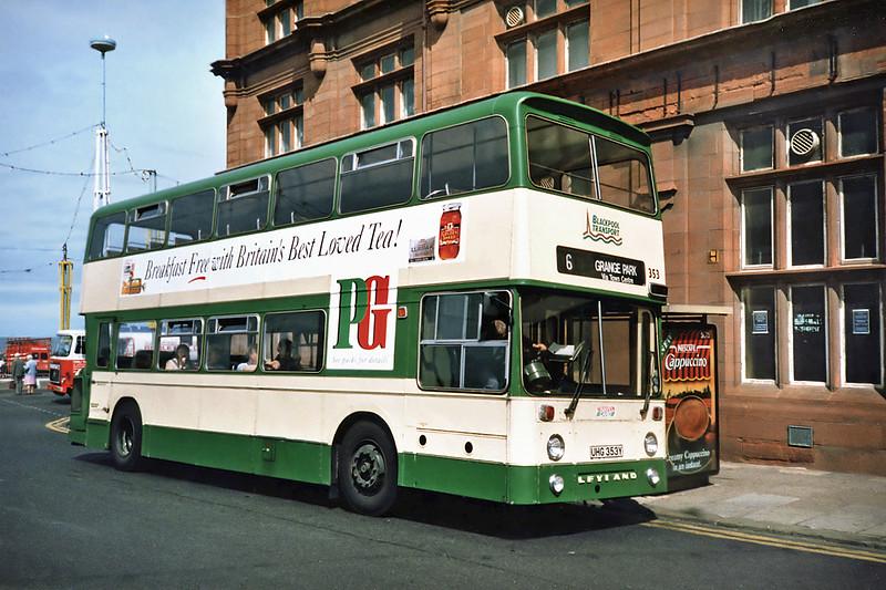 353 UHG353Y, Blackpool 17/7/1991