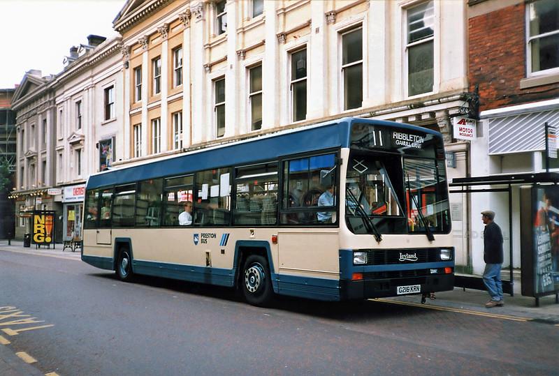 16 G216KRN, Preston 17/7/1991