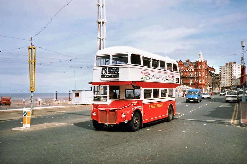 526 735DYE, Blackpool 17/7/1991