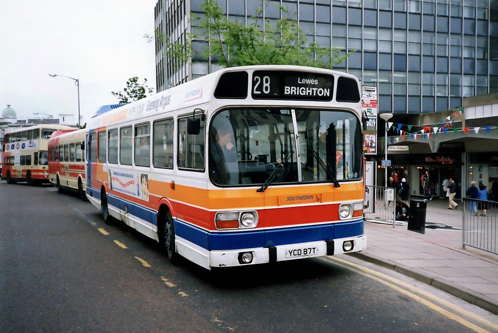 87 YCD87T, Brighton 18/5/1991