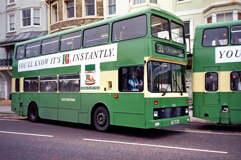 306 F306MYJ, Brighton 18/5/1991