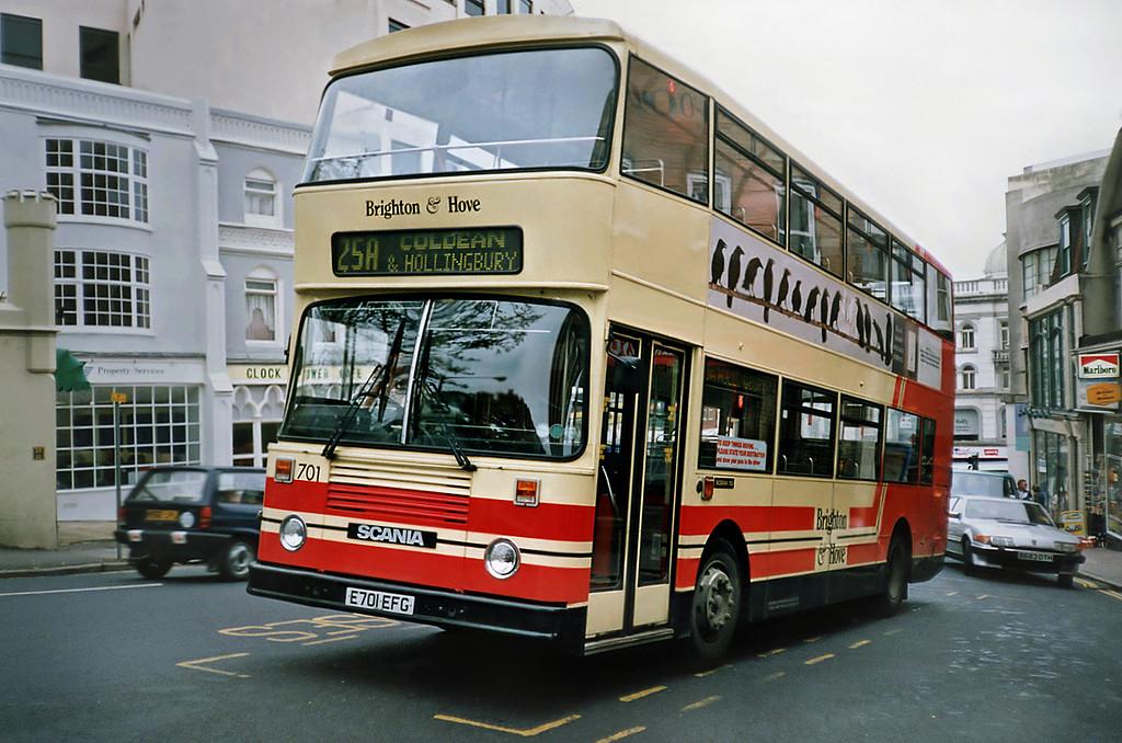 701 E701EFG, Brighton 18/5/1991