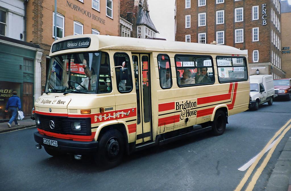 205 C205PCD, Brighton 18/5/1991