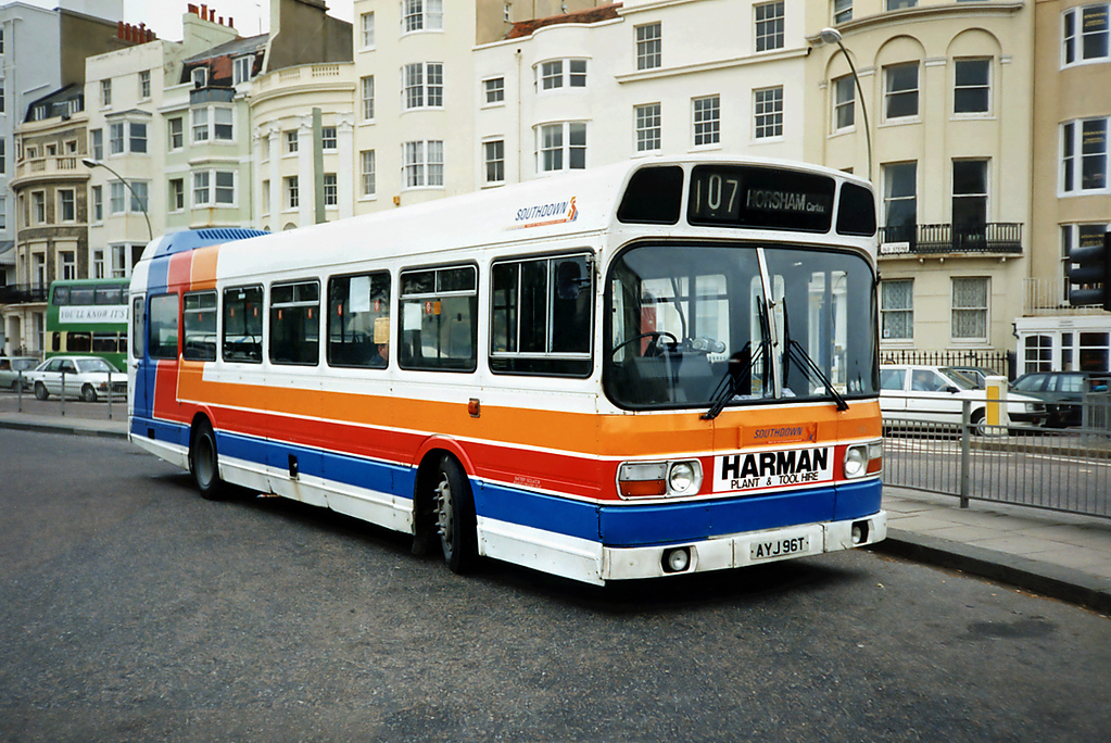96 AYJ96T, Brighton 18/5/1991