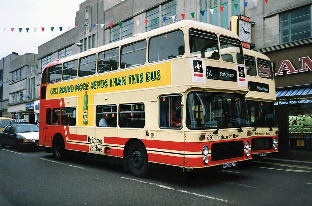 630 UFG630S, Brighton 18/5/1991