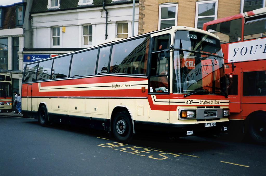 409 C379PCD, Brighton 18/5/1991
