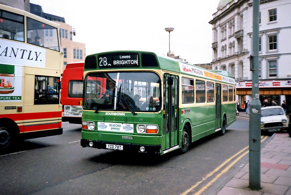 78 YCD78T, Brighton 18/5/1991