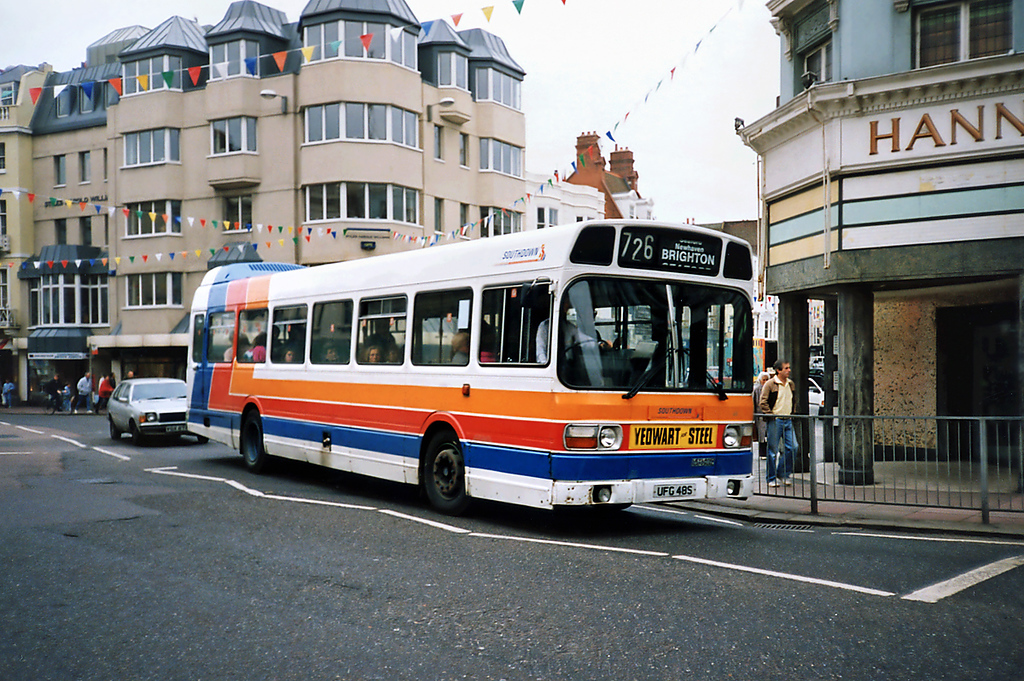 48 UFG48S, Brighton 18/5/1991