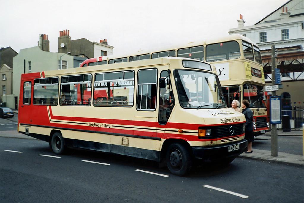 355 G55BEL, Brighton 18/5/1991