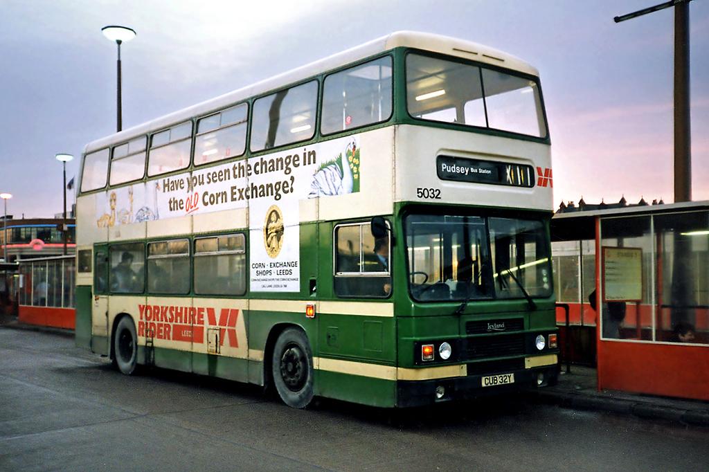 5032 CUB32Y, Leeds 19/1/1991