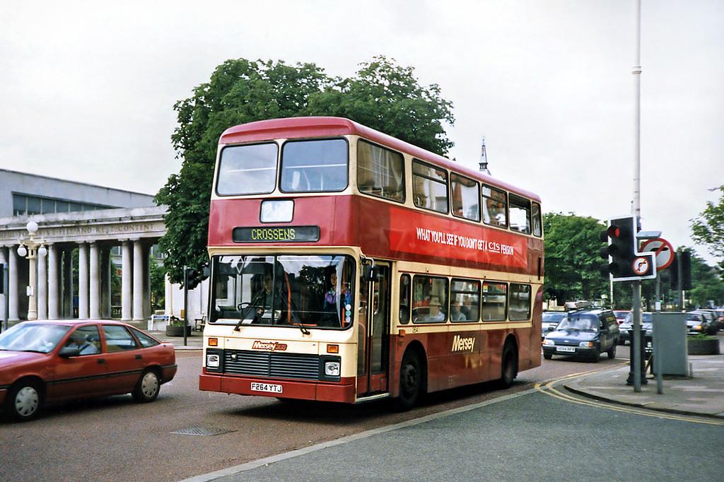 264 F264YTJ, Southport 20/6/1991