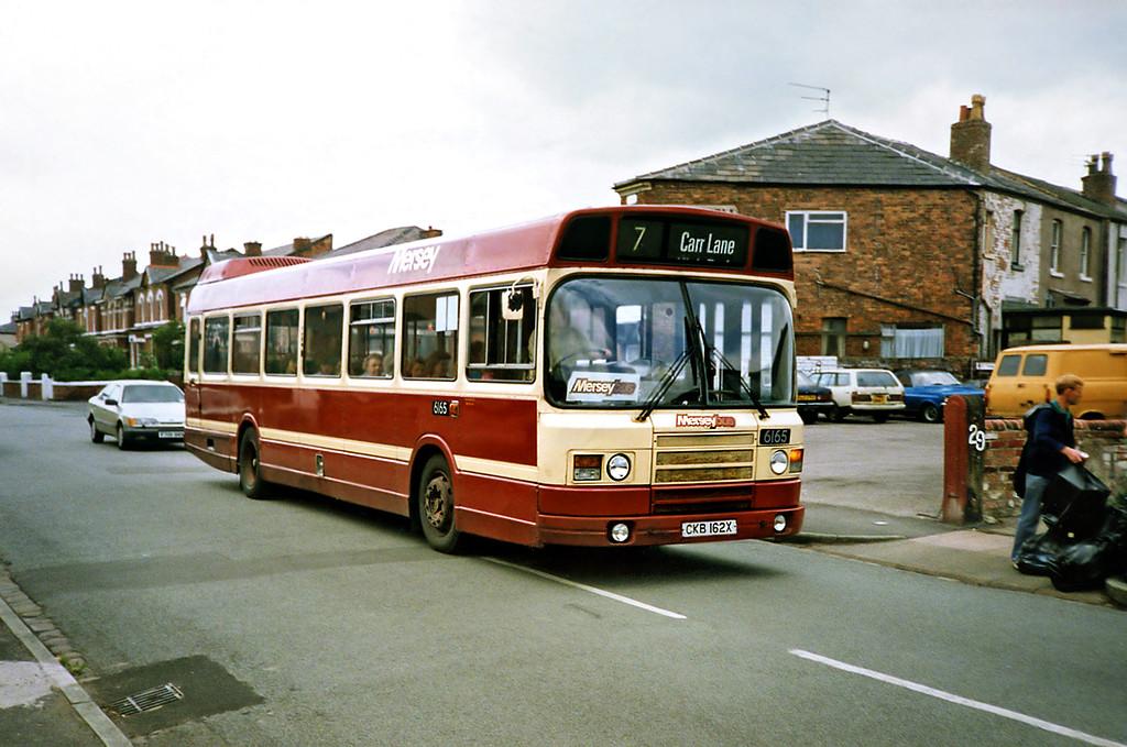 6165 CKB162X, Southport 20/6/1991