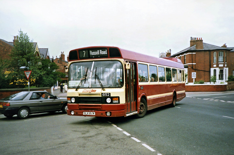 6152 XLV152W, Southport 20/6/1991