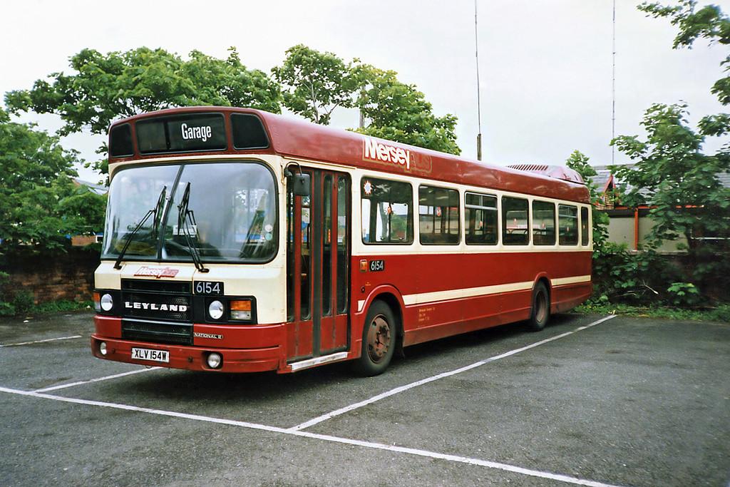 6154 XLV154W, Southport 19/6/1991