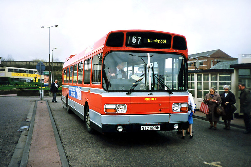 448 NTC628M, Blackburn 20/3/1991