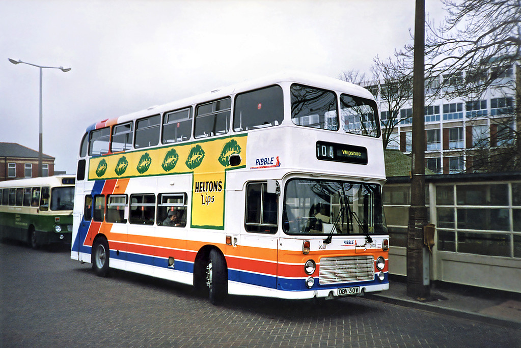 2030 DBV30W, Blackburn 20/3/1991