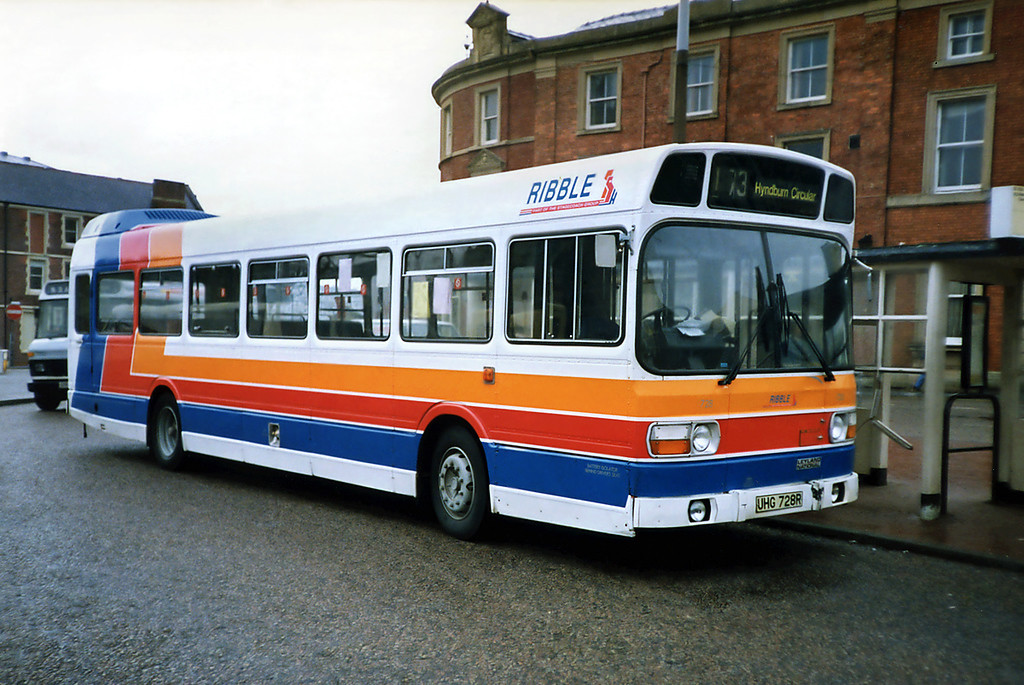 728 UHG728R, Blackburn 20/3/1991