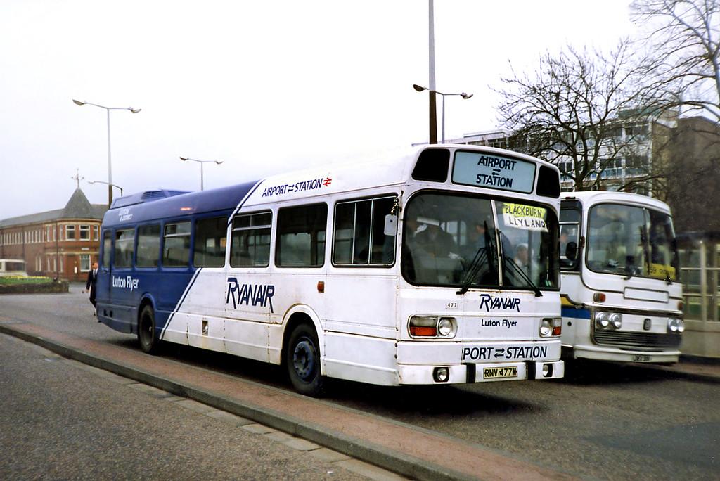 RNV477M, Blackburn 20/3/1991