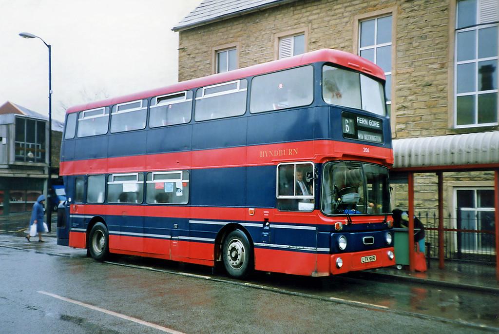 206 LTK96R, Accrington 20/3/1991