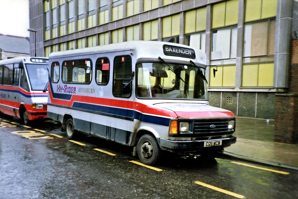 11 C211MCW, Accrington 20/3/1991