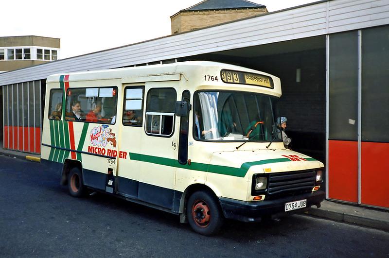 1764 D764JUB, Huddersfield 20/4/1991