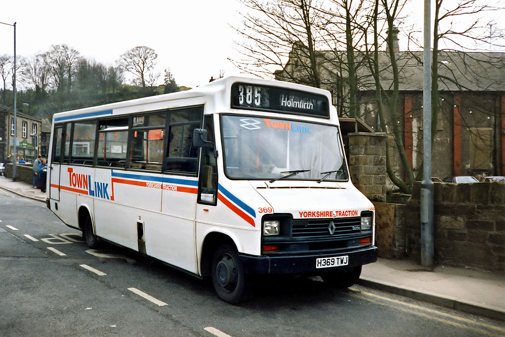 369 H369TWJ, Holmfirth 20/4/1991